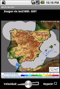 Info Lluvia - screenshot thumbnail