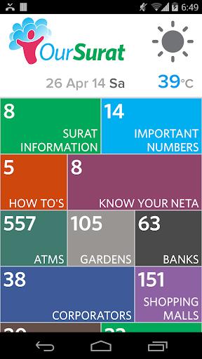 Our Surat - Best App for Surat