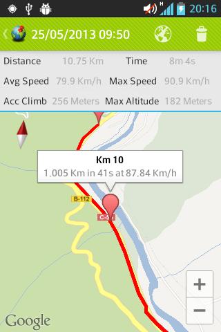 Basic GPS Tracker screenshots