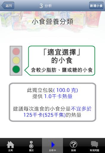 【免費健康App】小食營養分類精靈-APP點子