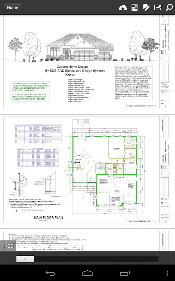 100 House Plans in PDF and CAD - Android Apps on Google Play