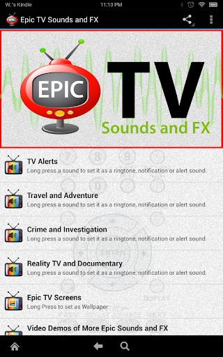 Epic TV Sounds and FX  screenshots 1