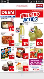 DEEN supermarkten screenshot