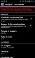 Screenshot of andropad2