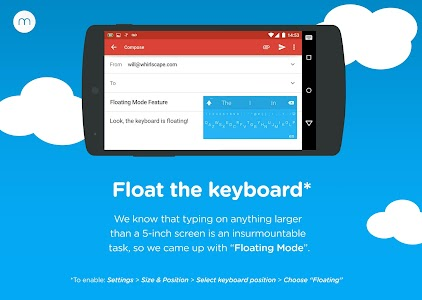 Minuum Keyboard + Smart Emoji v1.2.6b