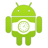 Green Droid Watch Face Lite