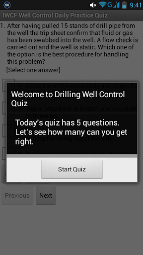 IWCF Well Control Quiz - Free