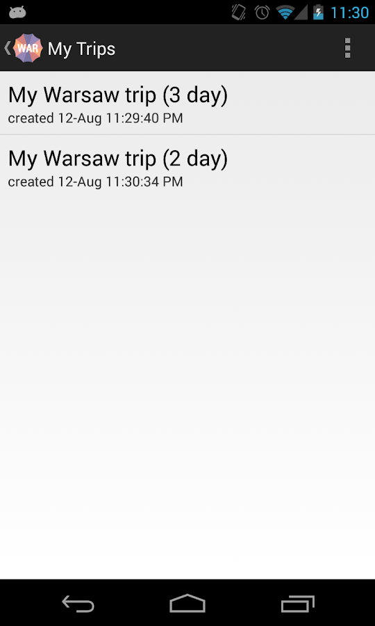 Holidayen Warsaw - screenshot