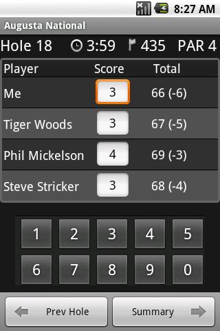 Easy Scorecard - screenshot