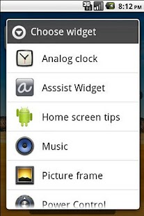 Asssist Dribbble Widget - screenshot thumbnail