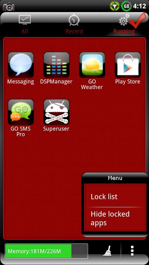 Finesse GO Launcher EX Theme - screenshot