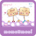 NK 카톡_모모N모니_절루안가 카톡테마 icon