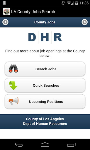 LA County Job Search
