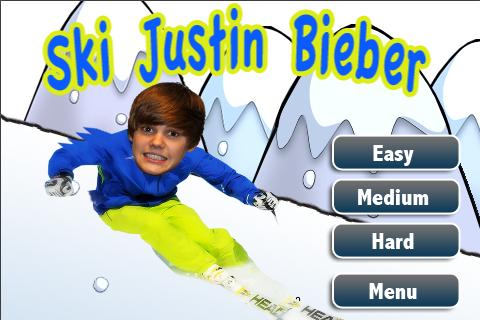 Ski Justin Bieber