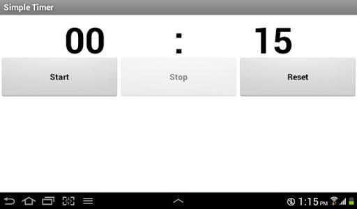 【免費生產應用App】Simple Timer-APP點子