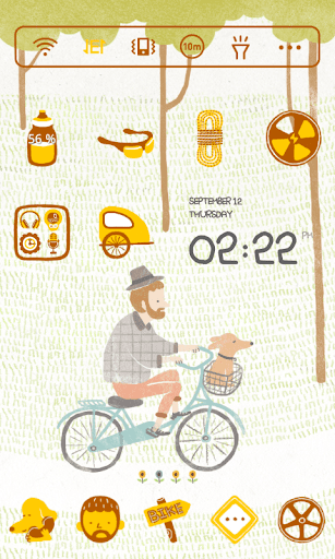 Dring Bicycle Dodol Theme