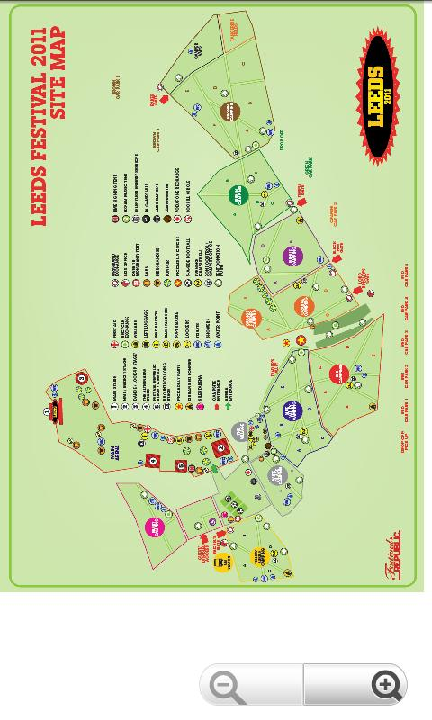 Leeds Festival 2011 Guide - screenshot