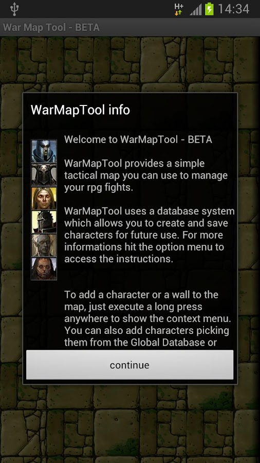 WarMapTool - BETA- screenshot