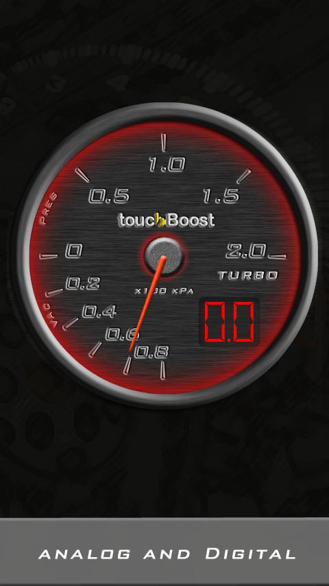 touchBoost: Car Turbo - screenshot