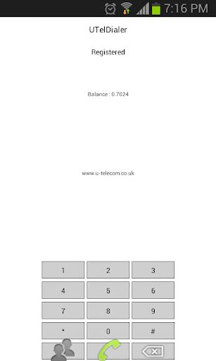 Utel Dialer Sample
