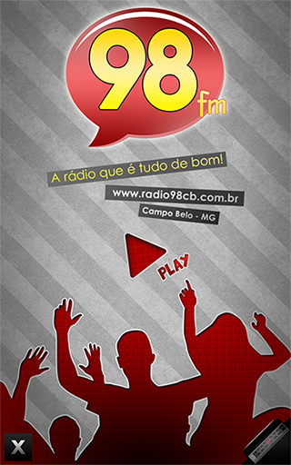 Rádio 98 FM Campo Belo - MG- screenshot