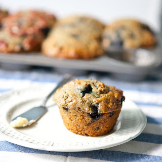 Blueberry Bran Muffins.