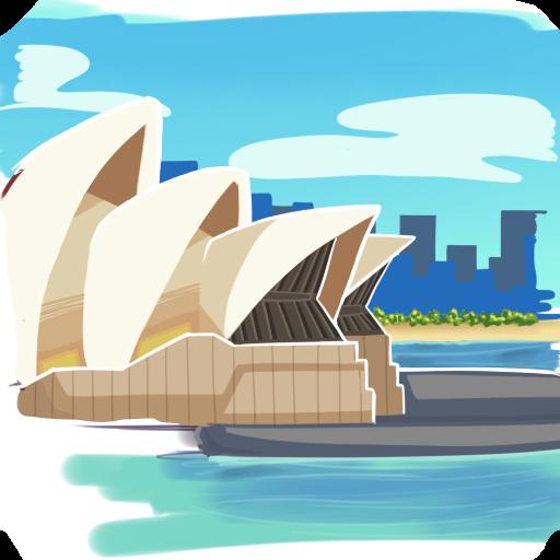澳大利亞地理問答游戲 益智 App LOGO-硬是要APP