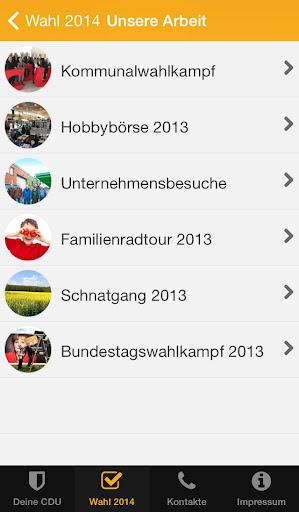 【免費通訊App】Deine CDU-APP點子