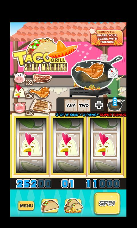 Taco Grill Slot Machine- screenshot