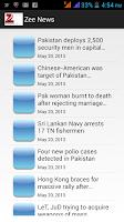Screenshot of NewsLine