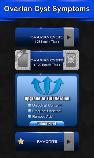 Ovarian Cyst Symptoms  screenshots 1