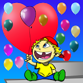 Balloon Pop - toddlers & baby
