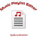 Music Playlist Editor – ME logo