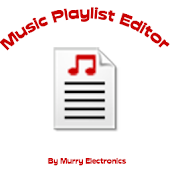 Music Playlist Editor - ME
