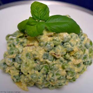 Curried Pea Salad.