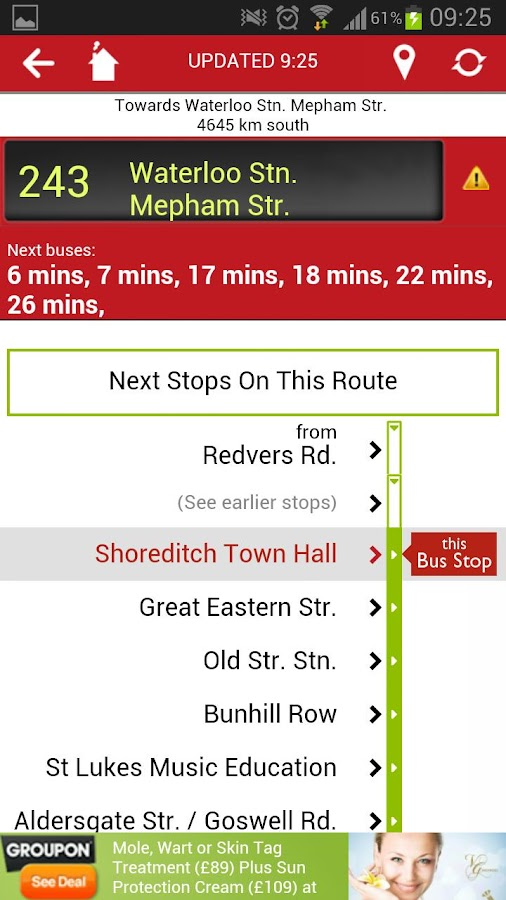 Bus Guru Live London Bus Times - screenshot