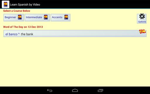 【免費教育App】通過視頻學習西班牙語-APP點子