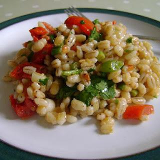 Barley & Sundried Tomato Salad.