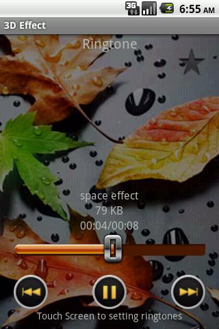 3D Effect Ringtone Top20 - screenshot