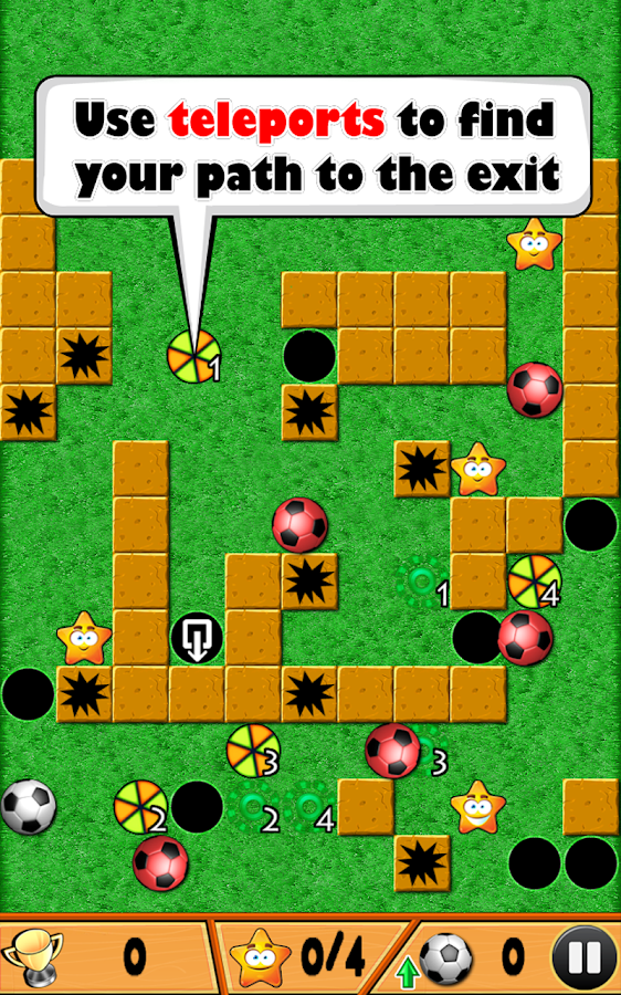 Flick The Ball- screenshot