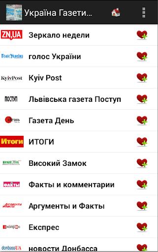 Україна Газети та новини
