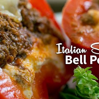 Italian Stuffed Bell Peppers.