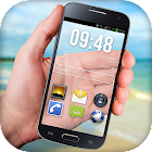 Transparent Phone Screen HD Simulation icon