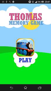 Thomas Train Memory Game