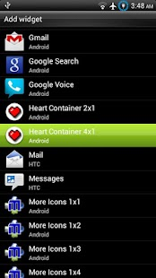 Heart Container Battery Meter - screenshot thumbnail