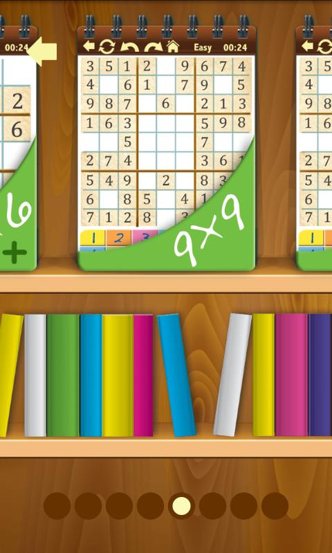 Sudoku Shelf- screenshot