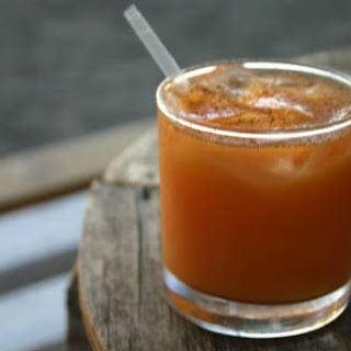 Tropical Coconut Rum Punch.