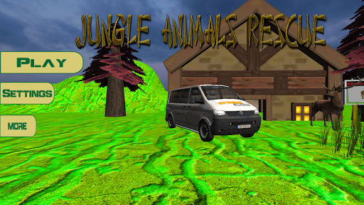Jungle Animals Rescue 3D