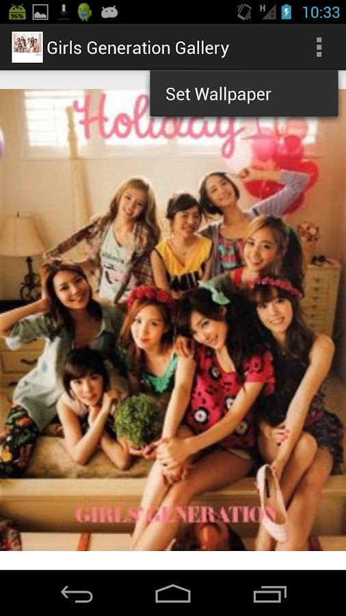 Girls Generation Gallery - screenshot