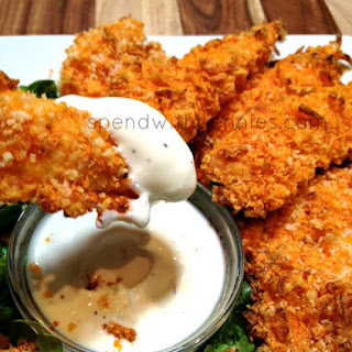 Doritos Crusted Chicken Strips.